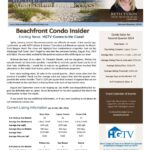 Beachfront Condo Insider Report for the Second Quarter 2014